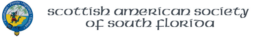 Scottish American Society of South Florida Logo